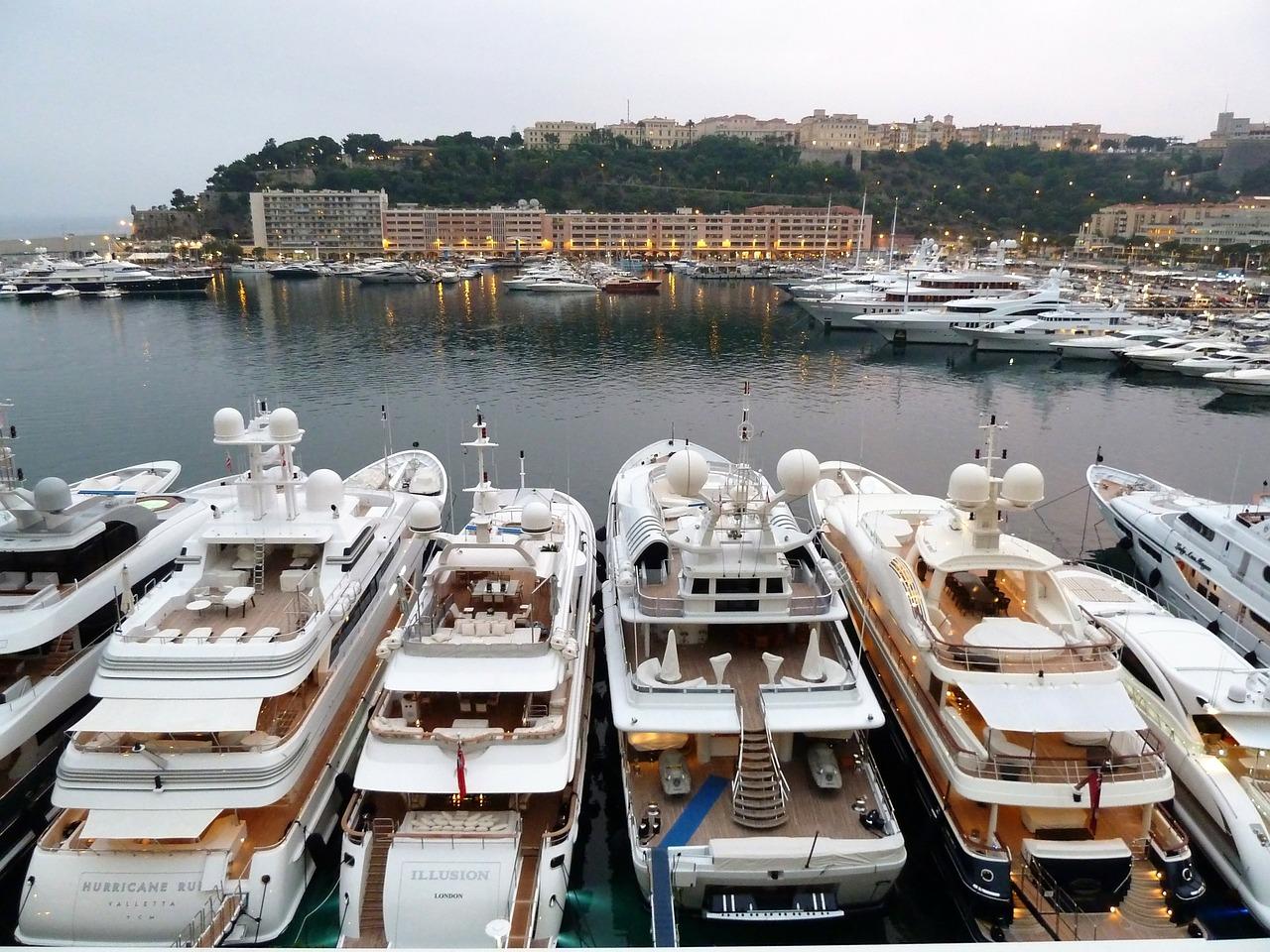 Location de yacht à Monaco