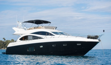 Location de yacht SUNSEEKER MANHATTAN 70