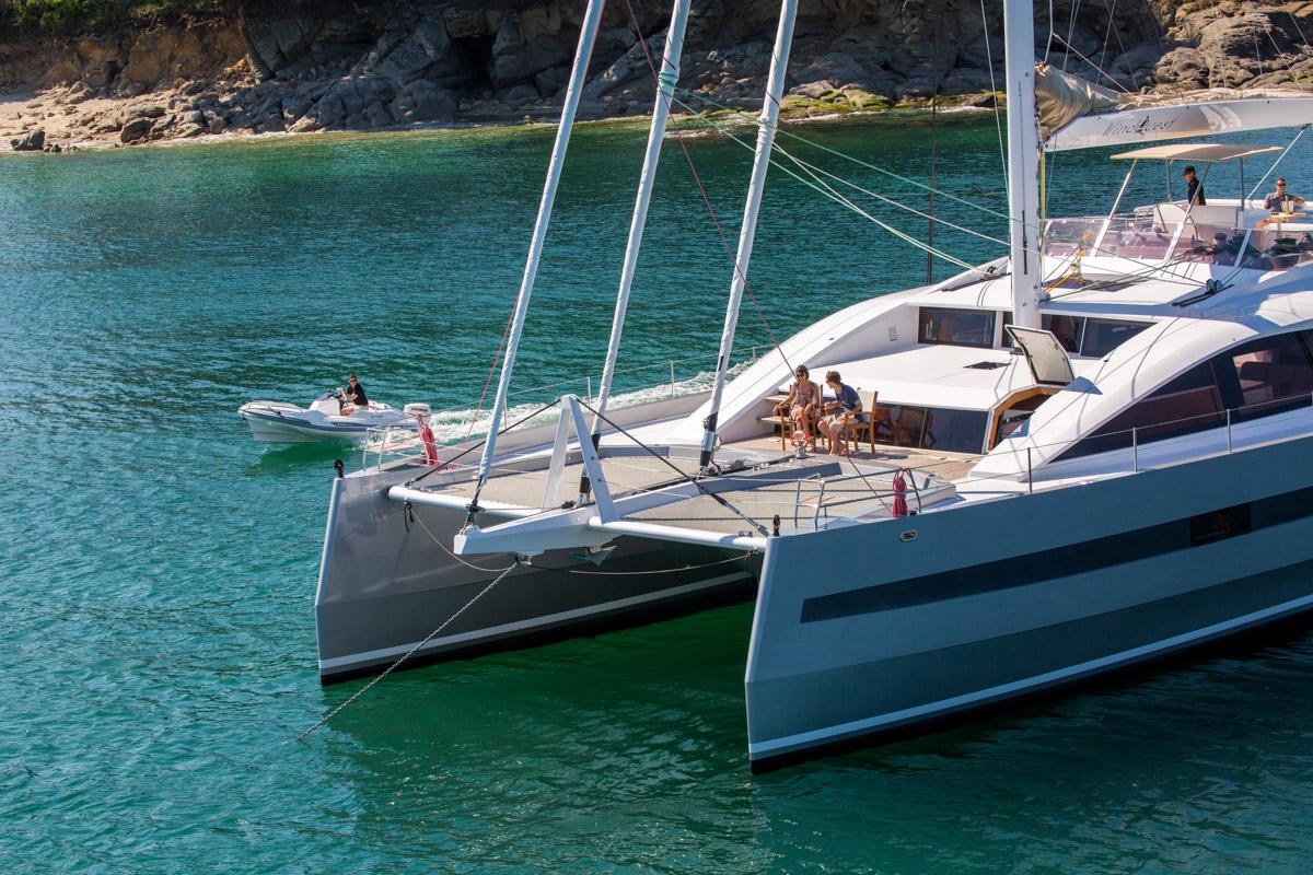 location catamaran iles vierges