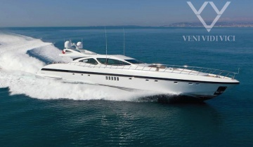 Location de yacht MANGUSTA 130