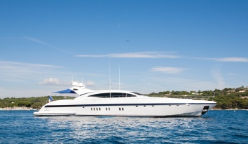 Location de yacht Mangusta 108