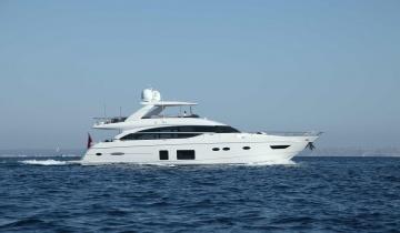 Location de yacht PRINCESS 82MY