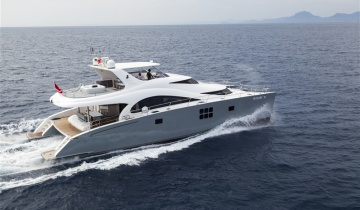 Location de yacht Sunreef Yachts 70