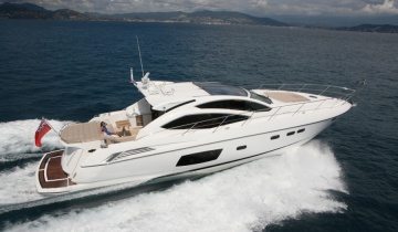 Location de yacht SUNSEEKER Predator 68