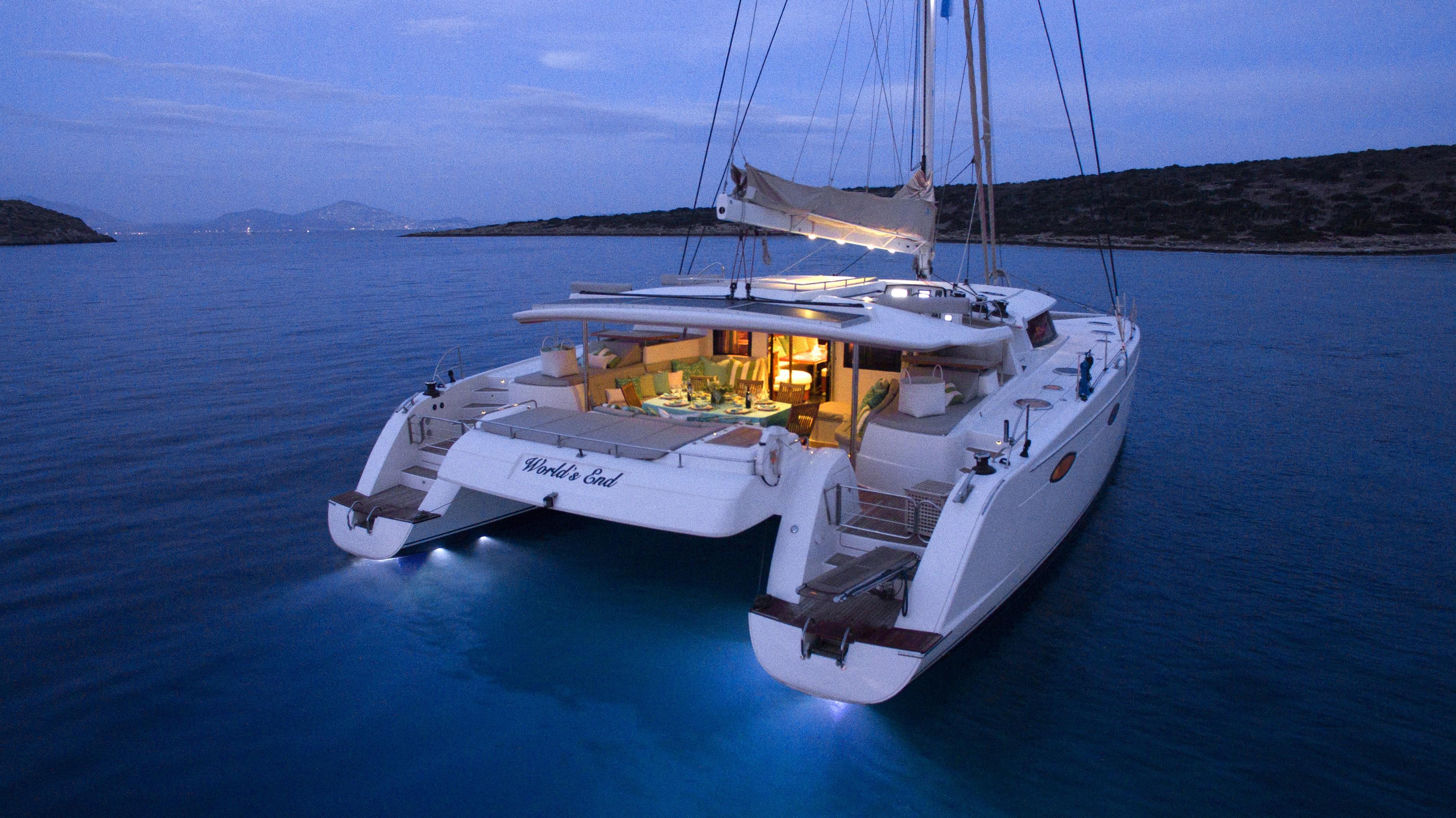 Location de catamaran en gr ce for Catamarani di lusso