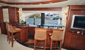 Flybridge AZIMUT 116 - Photo du bateau