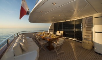 Flybridge SANLORENZO 115 - Photo du bateau