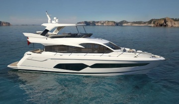Location de yacht Sunseeker Manhattan 66