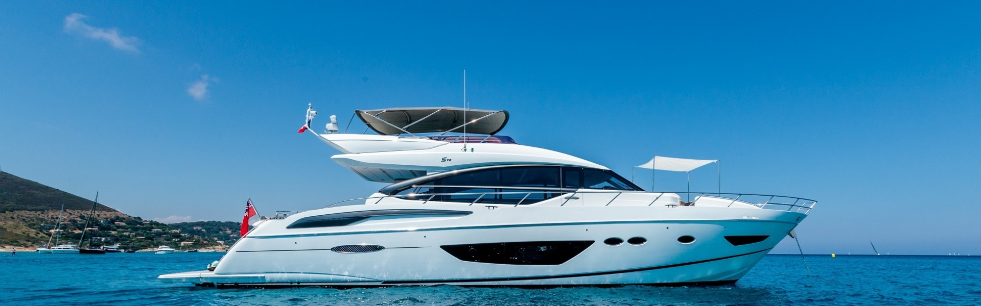 Location de yacht Princess S72